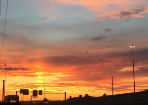 spectacular sunset 8-31-15